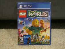 LEGO Worlds (Sony PlayStation 4, 2017) PS4 BRAND NEW SEALED
