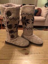 Mukluks Womens Tall Fur Boots