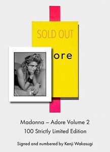 BRAND NEW! SOLD OUT! MADONNA Signed Ed. ADORE VOL 2 by Kenji Wakasugi 1985 Tokyo