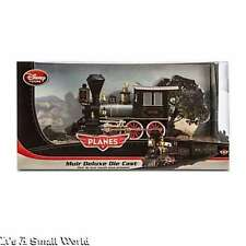 """Disney Store Planes Fire And Rescue Muir Deluxe Die Cast Train 7 1/2"""" NIB"""