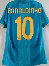 Barcelona 2007-2008 Ronaldinho 10 lejos de Fútbol Camisa Tamaño Pequeño adultos/40203