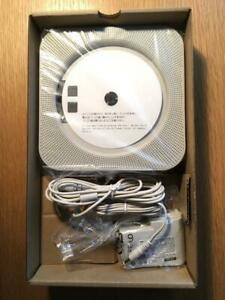MUJI Wall mounted CD CD-R player with FM radio from JAPAN CPD-4 New Classic