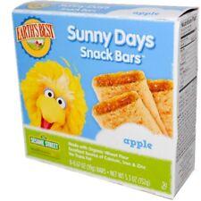 Earth's Best Sunny Days Apple Snack Bars Case of 6 5.3 Oz Organic Kosher