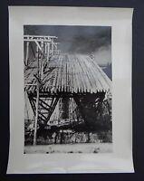 Photo 1945 construction viaduc PONT DE MULHOUSE Nogent sur Marne Le Perreux 2
