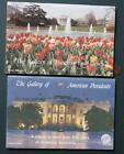 1991 Mansfield Ohio Gallery of Presidents & 1st ladies Oil Portraits 2 book set!