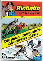 Rintintin Nr.1 von 1972 - TOP Z1 ORIGINAL BSV ABENTEUER COMICHEFT