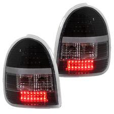 LED Rückleuchten Klarglas Set für Opel Corsa B Bj. 93-00 Schwarz