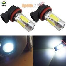 2pcs High Power 11W H11 H8 CREE COB LED Projector Bulbs For Fog DRL Lights #66