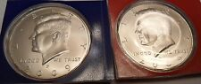 2009 P & D Kennedy Half Dollar Set (2 Coins) *MINT CELLO*  **FREE SHIPPING**