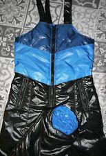 rot XS-5XL 25mm blau Glanznylon Skihose DPK1 schwarz marineblau grau