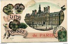 CPA -Carte postale-  France - Paris - Une Pensée de Paris - 1909 (CP995)