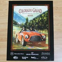 2008 Colorado Grand Vintage Race Car Event Poster, B. Neale Artist