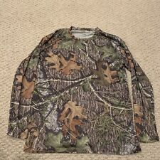RedHead Mossy Oak Camo Camouflage Long Sleeve Hunting Shirt Mens Medium