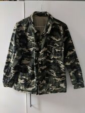 NEW LOOK CAMOUFLAGE JACKET SIZE 10
