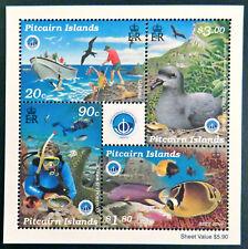 1998 Pitcairn Islands Stamps - International Year of the Ocean - Mini Sheet MNH