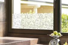 """NEU 4x """"Hibiskusranke"""" Fensterdeko Fensterbilder Tattoo"""