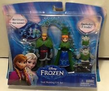 Disney Frozen Figurines Troll Wedding Gift Set 4 Figures, Kristoff/Anna+2 Trolls