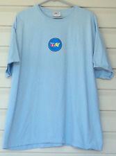 EBAY Tee Shirt Light Blue Short Sleeve Hanes 2XL