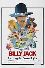 BILLY JACK Movie POSTER 27x40 C Tom Laughlin Delores Taylor Clark Howat Bert