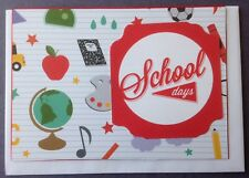 1 Hand made child's card - School Days. Postage $2 for 1 to 6 cards.