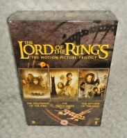 The Lord Of The Rings Trilogy Box Set (DVD, 2005, 6-Disc) NEW & SEALED