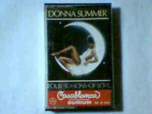 DONNA SUMMER Four seasons of love mc cassette k7 ITALY GIORGIO MORODER