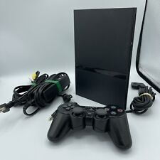 Sony PlayStation 2 PS2 Slim Black Console Controller Cables Model SCPH-70012