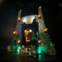 LED Light Up Kit For LEGO 75936 Jurassic Park: T. rex Rampage Toy Building Block