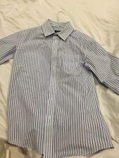 Boys Dress Shirt 16 / 18 Extra Large Button Down Collar Cherokee Xl Yxl Cxl