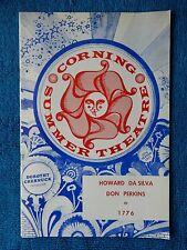 1776 - Corning Summer Theatre Playbill - July/August 1973 - Howard Da Silva