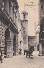 C3630) ROVIGO, PALAZZO RONCALE, CARRETTO DEI GELATI E CARROZZA.