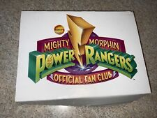 Mighty Morphin Power Rangers Official Fan Club Box 1994~Some Items Still Sealed!