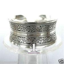 New Tibetan Tibet Silver Totem Cuff Bracelet free shipping  002