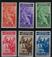 1935 Vaticano Congresso Giuridico Internazionale MNH