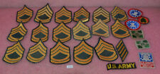 25 Vintage Military Patches Lot.