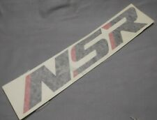 Genuine Honda NSR125R Fairing Lower Panel Type 2 Decal Emblem 64311-KY4-880ZB