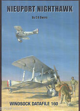 WINDSOCK  DATAFILE  # 160   Nieuport Nighthawk   ( British )  sb  book