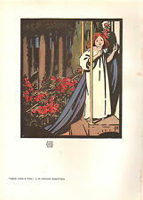1905 VICTORIAN STUDIO PRINT ~ ONCE UPON A TIME by W. GRAHAM ROBERTSON