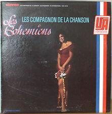 LES CAMPAGNONS DE LA CHANSON: Les Bohemiens-1967LP