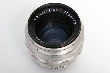 Zeiss Biotar 58mm f2 Lens For Exakta S#3766599