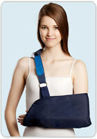 Deluxe Arm Elbow Sling Brace Immobiliser Support Strap - Pain Relief Fractures