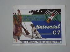 advertising Pubblicità 1942 CARTUCCE DA CACCIA BOMBRINI PARODI DELFINO