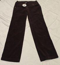 PETIT BATEAU Women's Eggplant Purple Velvet Pants 61535 Sz 14 Small NWT $138