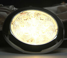 "RV Marine Boat Bright 3.7""D Round Ceiling Light Water Dustproof Samsung LED Bulb"