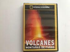 VOLCANES MONTAÑAS DE FUEGO NATIONAL GEOGRAPHIC NUEVO A ESTRENAR