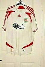 Liverpool FC 2007-2008 ADIDAS Shirt Size Large Gerrard, Alonso, Torres
