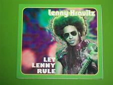 "LENNY KRAVITZ CD LIVE ""LET LENNY RULE"" GERMANY 2002 + BONUS -DIGIPAK- WOW! RARE!"