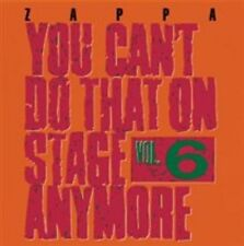 Frank Zappa - You Can't Do That on Stage Anymore, Vol. 6 (Live Recording, 2012)