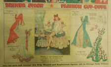 Brenda Starr Sunday with Large Uncut Paper Dolls from 11/22/1942 Full Size Page