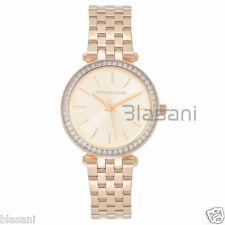 Michael Kors Original MK3365 Women's Darci Mini Gold Steel Bracelet Watch 33mm
